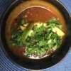 Chilli con carne z awokado