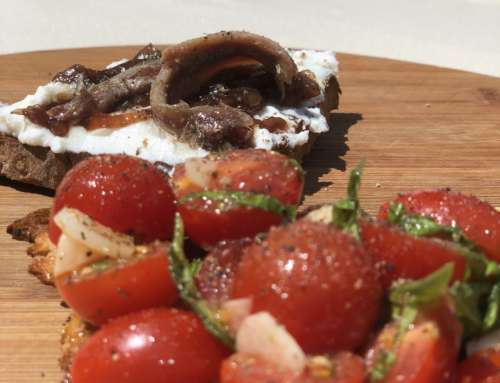 Smaki Toskanii – bruschetta z pomidorkami