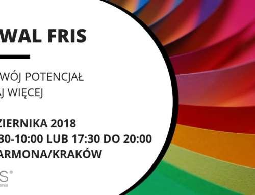 FESTIWAL FRIS – Kraków hotel Farmona_26.10.2018- 3 terminy do wyboru